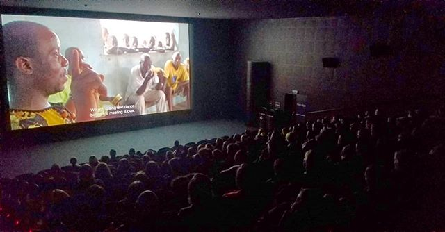 One year on, it's beautiful to see this movie still packing theaters. We've got around 7 screenings here in Bergen - come on out and meet director @anjalinayar! . . . #filmsthatmatter #film #documentary #womeninfilm #director #liberia #silas #sdi #socialjustice #change