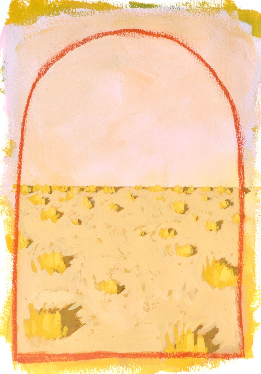 #05 Mini Desert Painting: Fall