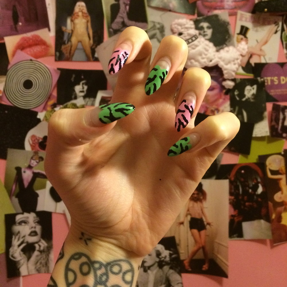 2014 Hand Painted Nail Art
