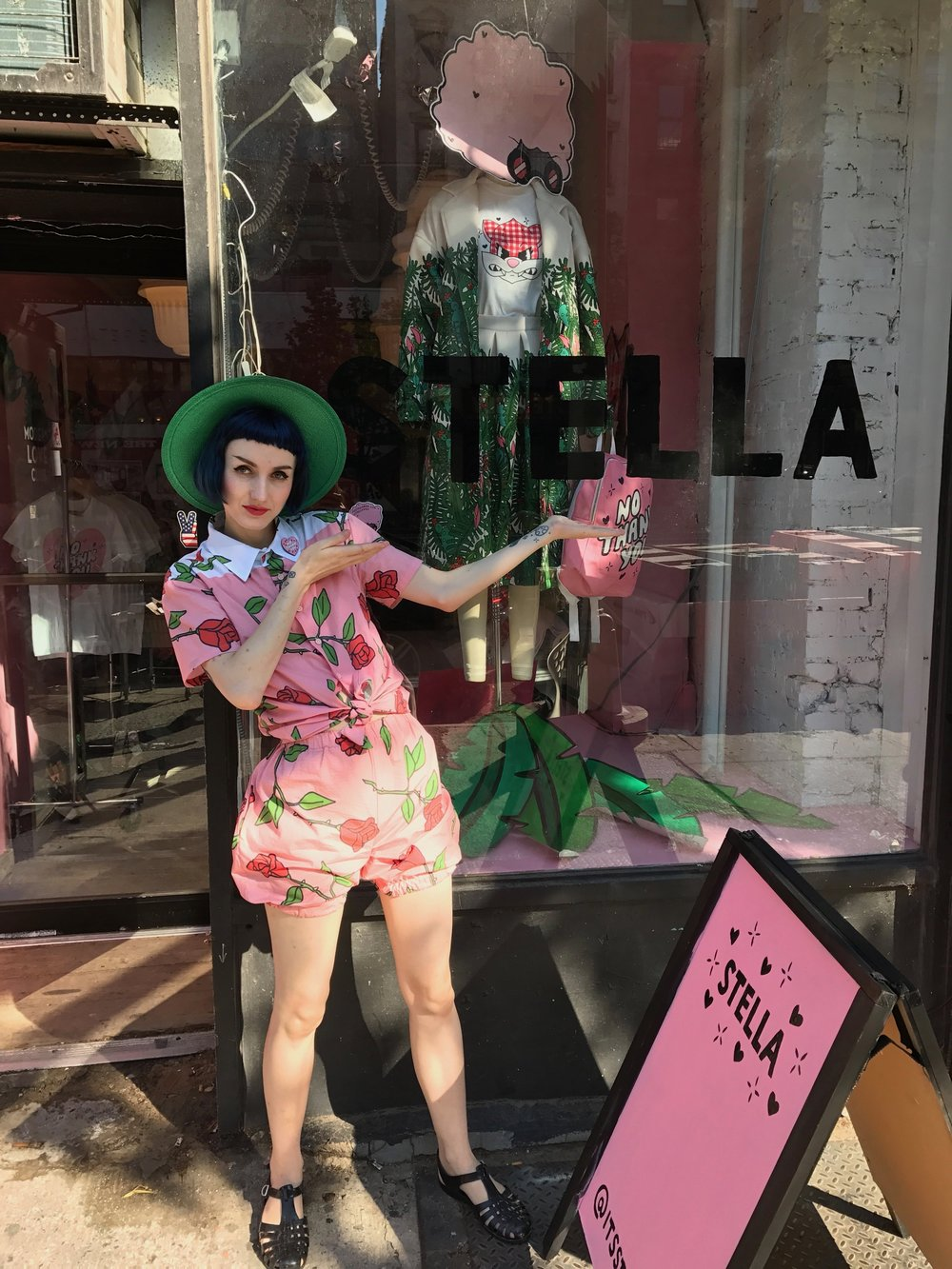 2017 STELLA Pop Up Shop month long residency in the East Village, NYC