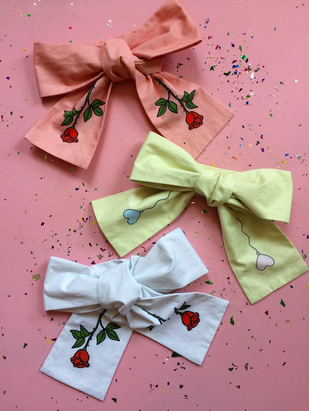2017 Graphic Bow Ties