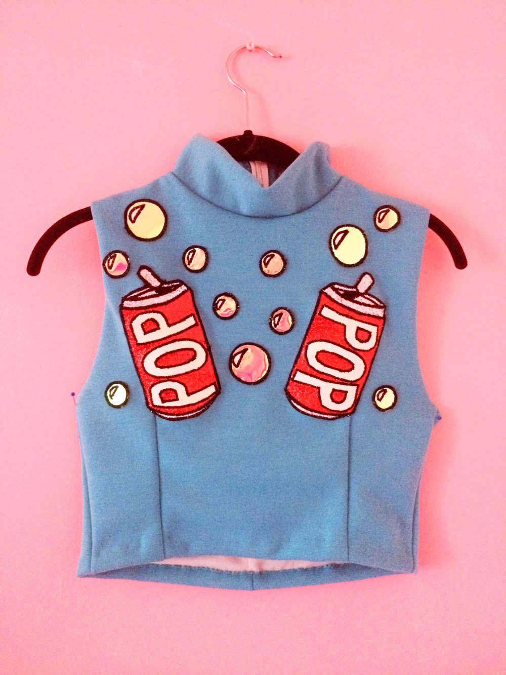 2016 Soda Pop Crop Top created for Coatie Pop