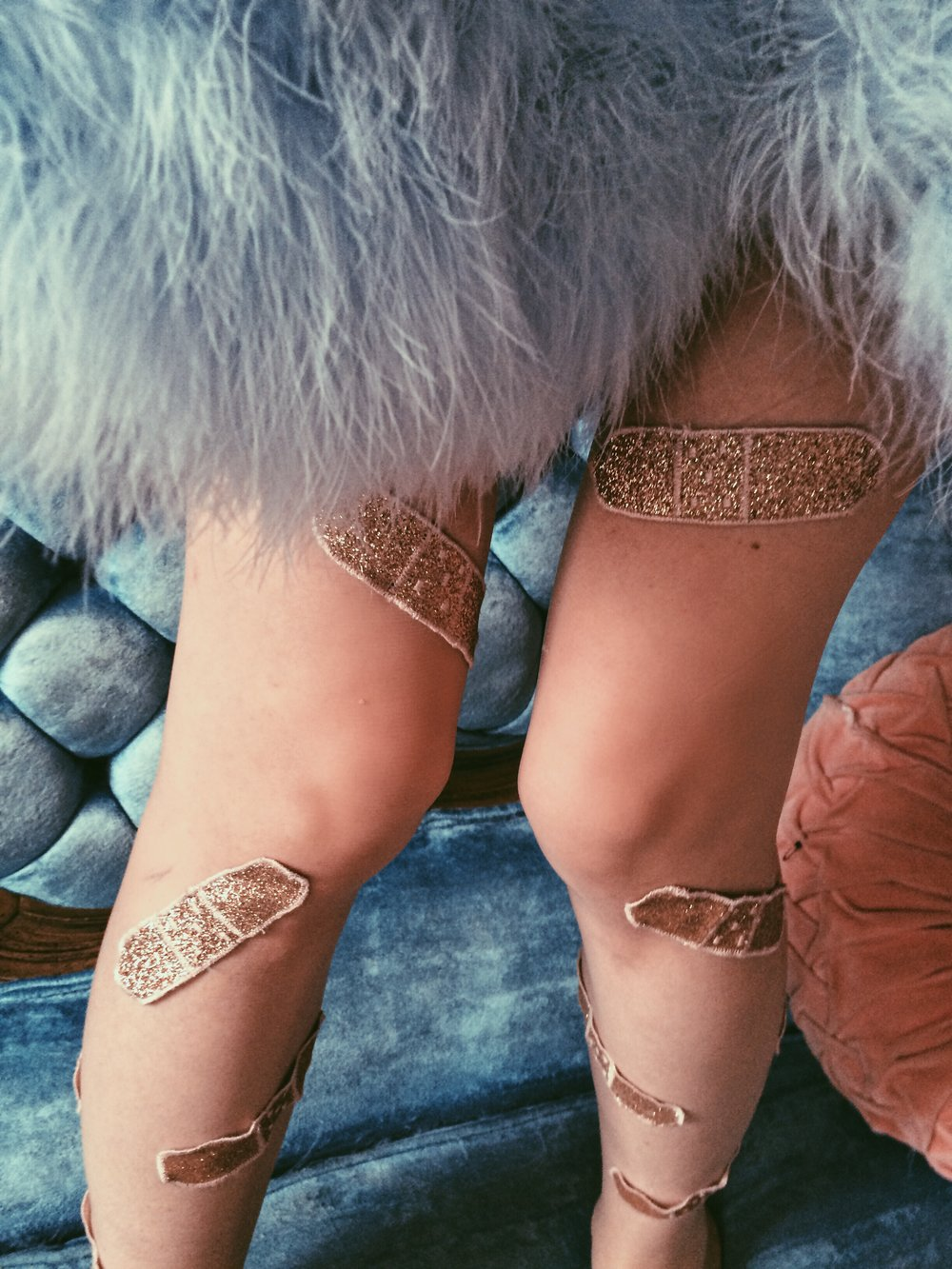 2015 Bandaid Applique Stockings created for Melanie Martinez