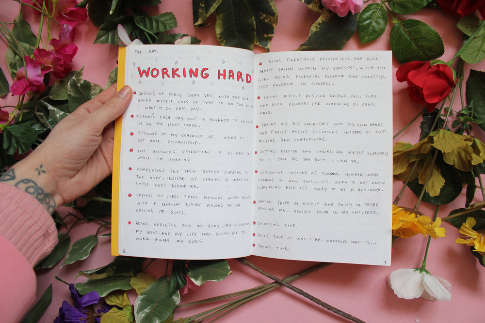 Working Hard: Write Your Own Rules