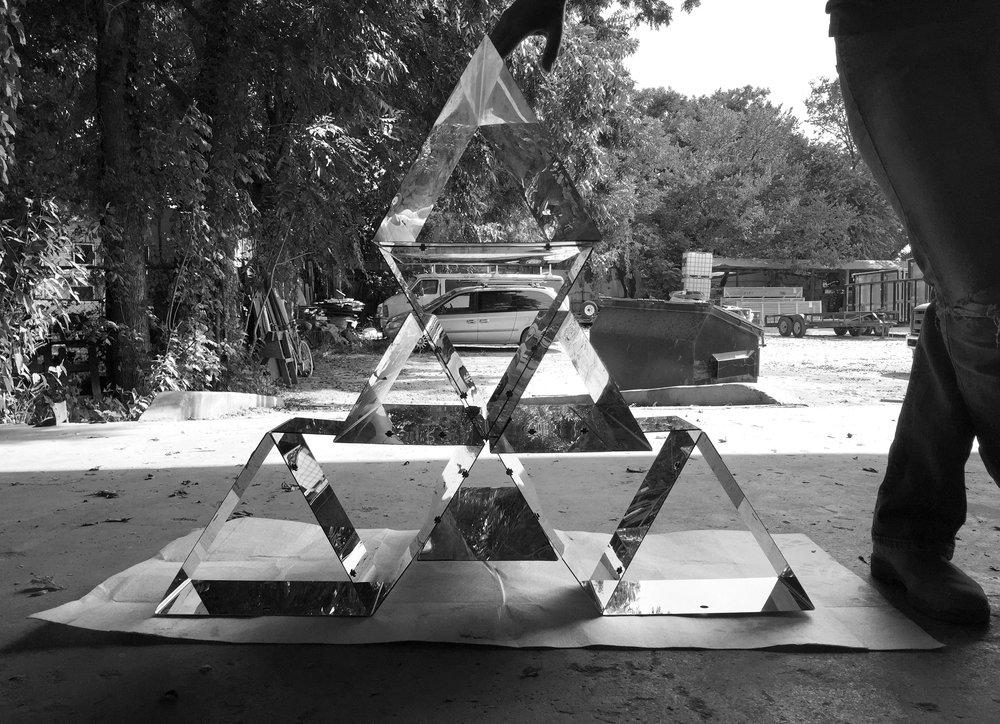 first module assembled
