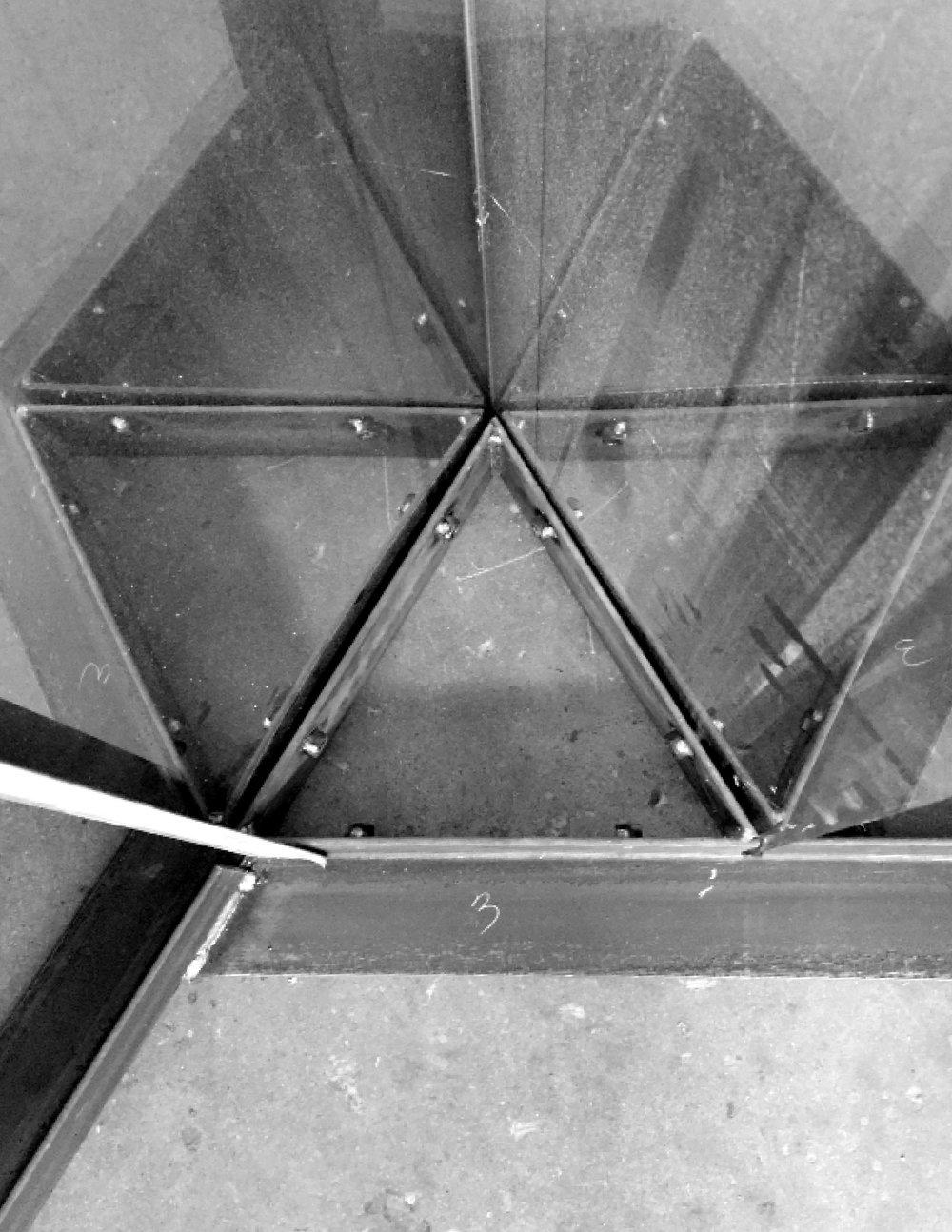 steel base mockup