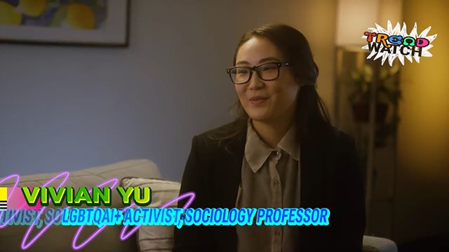 I play a sociology professor named Vivian Yu in @rekha_s's latest @collegehumor sketch about Diversity! Big thanks to Rekha for seeing my academic potential and putting me in her sketch. 🤓 Swipe to see my clip, link to the full vid is in my bio. Go see a funny thing plus a super typical/highly demoralizing Youtube comment section! 🤩🤩🤩