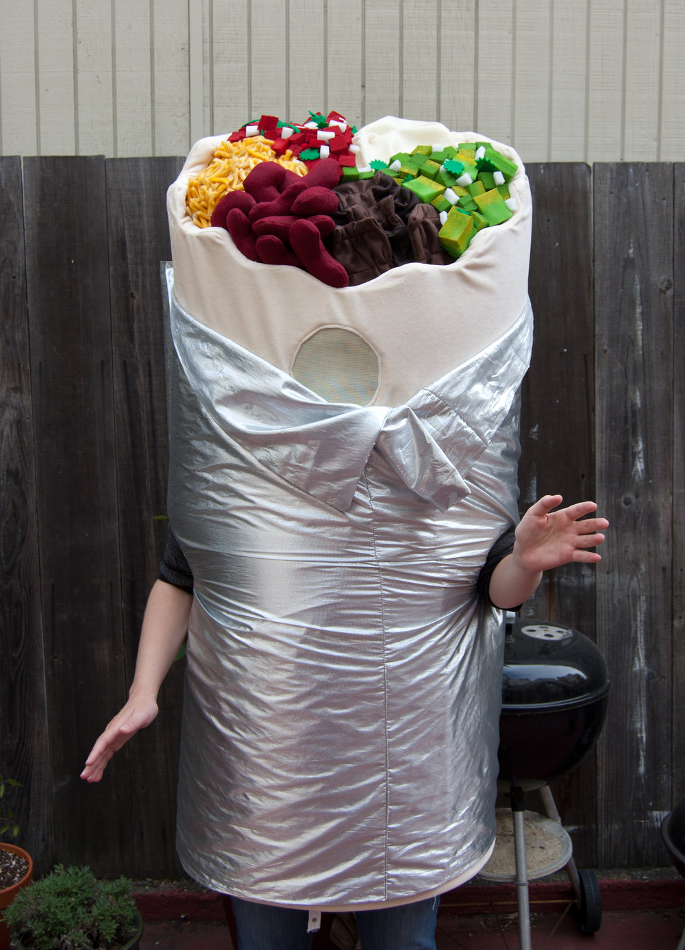 Bold Burrito Costume - The