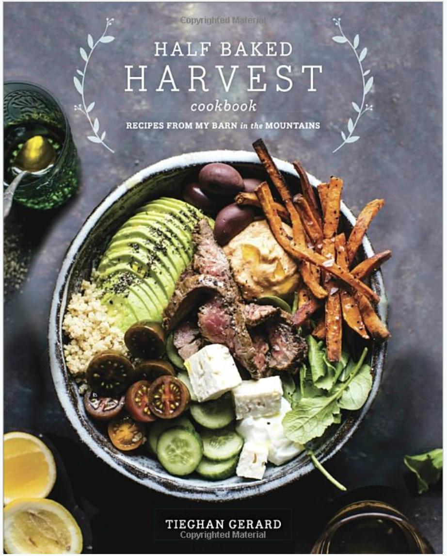 Half Baked Harvest Cook Book  $32 CAD