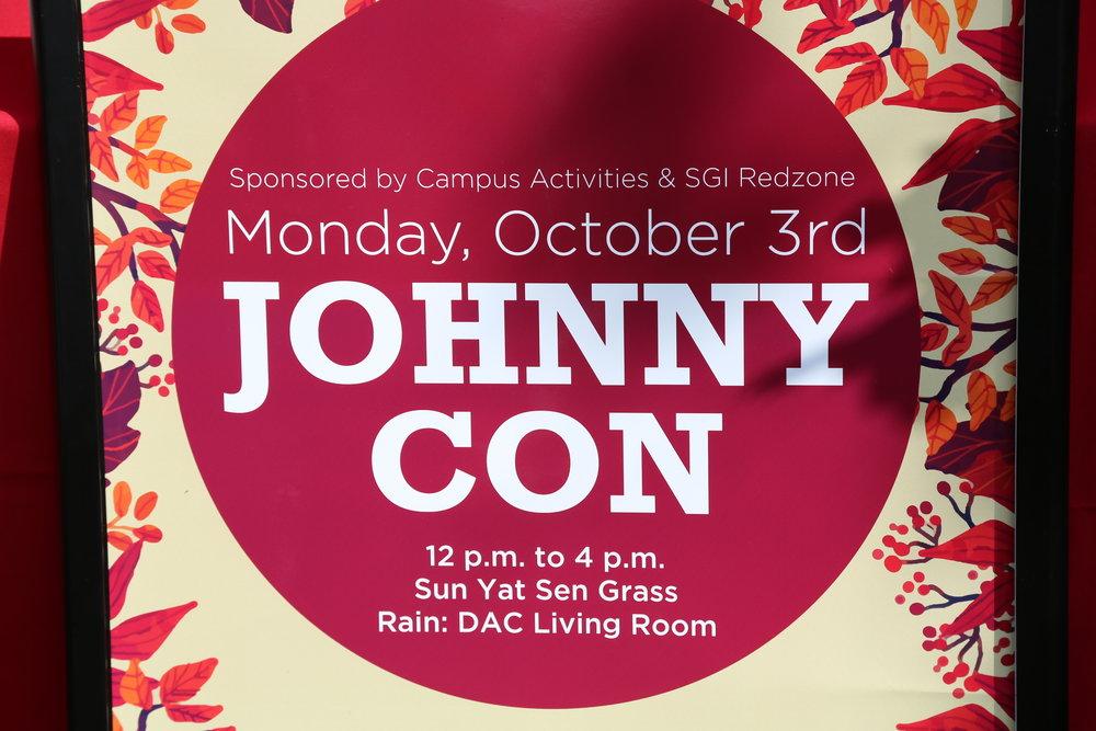 St John's -Johnny Con 10/2/2016