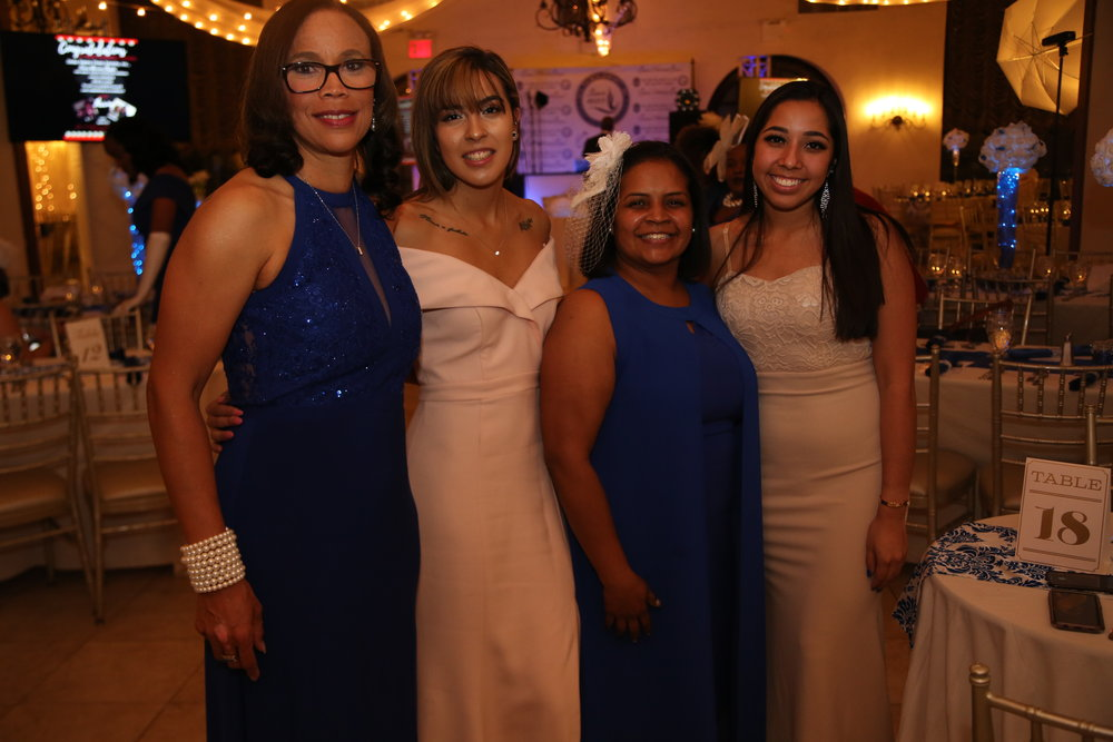 ZETA PHI BETA SORORITY, INC QUEENS HONORING QUEENS GALA 12-8-2018
