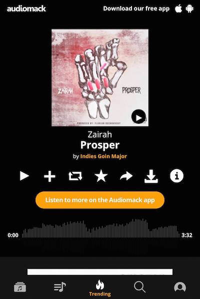 zairah_audiomack_prosper