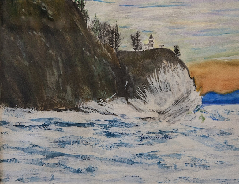 Stormy Cape Disappointment by Randy Knox | $160