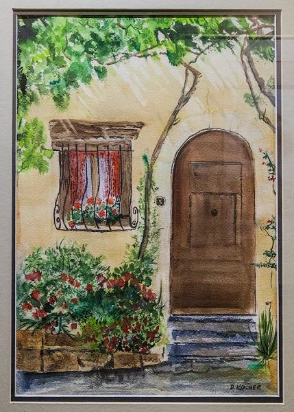 Provence Portal by David Kocher | $150