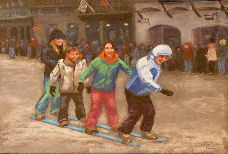 Games at Ice Fest by Suzi Lane | $400