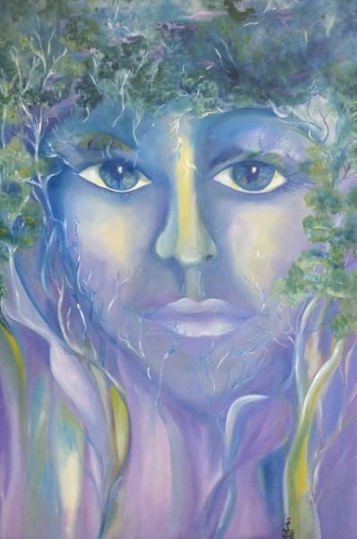 Spirit of the Forest by Martha Flores (Acrylic) | $400