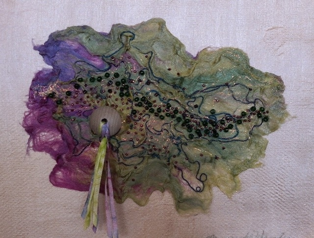Cosmic Map by  Margaret Wheeler (Silk Fusion) | $135