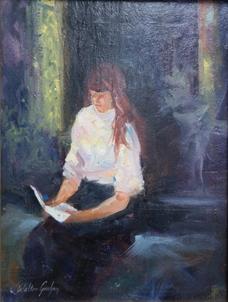 The Letter by Walter Graham (Oil) | $1000
