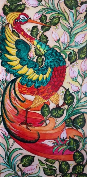 Phantasy Pheasant by Carole Hiatt | $200