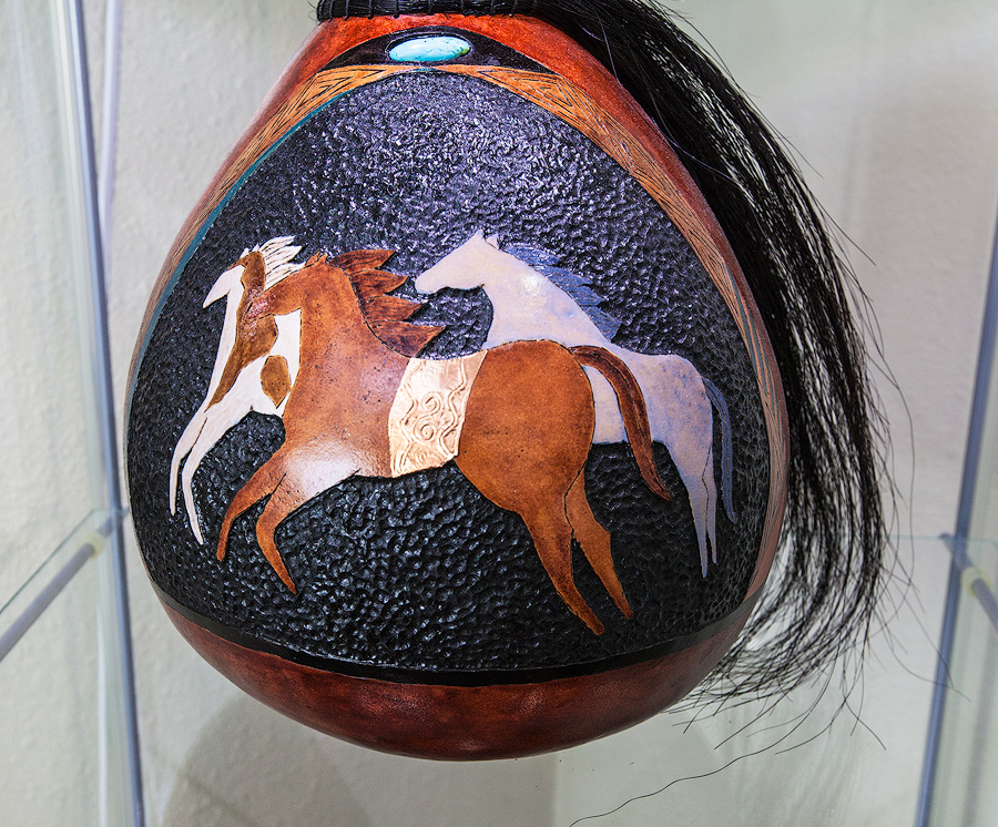 Running Free-Gourd with Horse