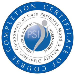 PSI: Components of Care Perinatal Mood & Anxiety Disorders
