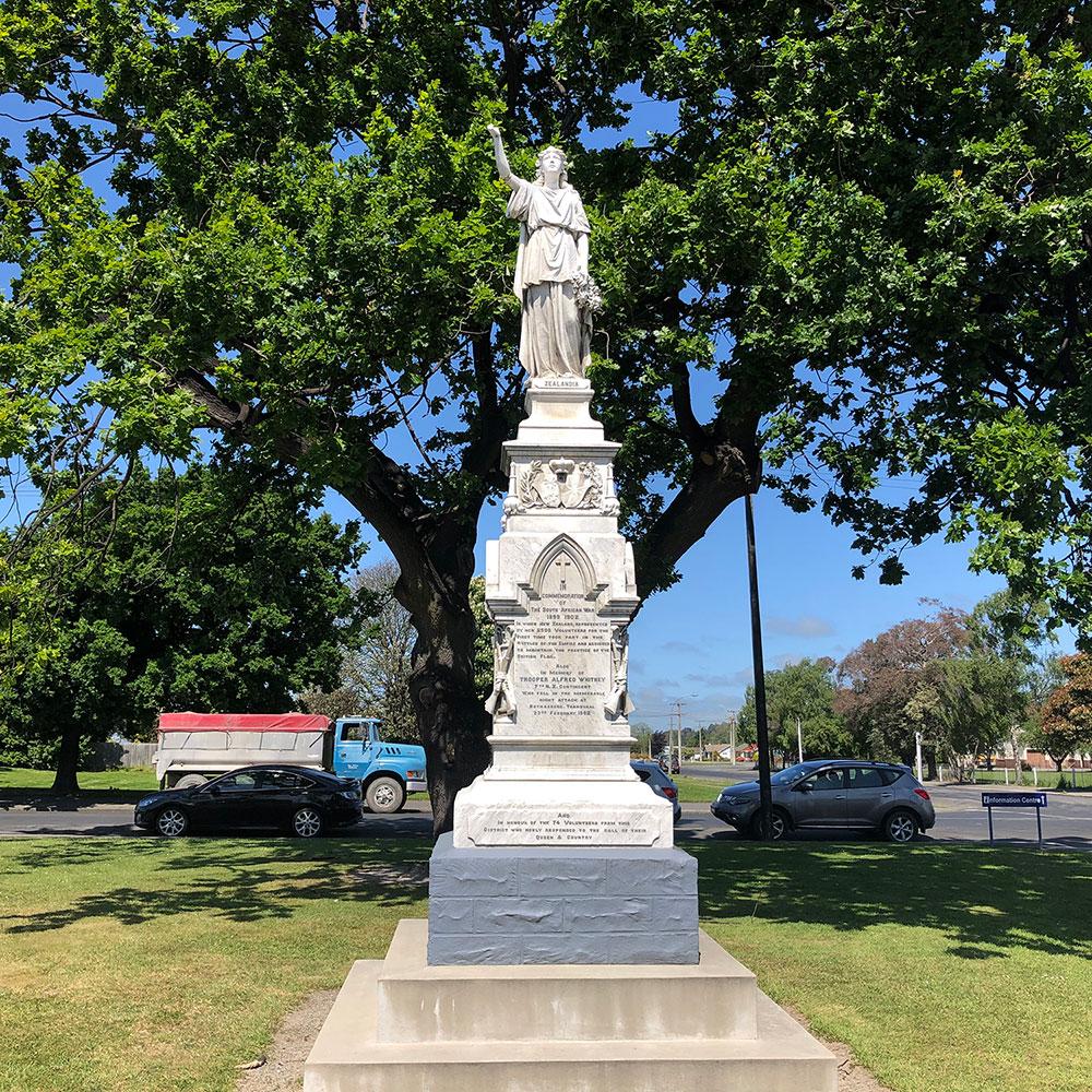 Zealandia Monument