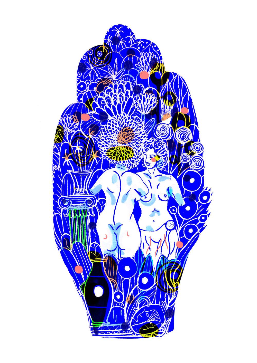 Shamisa Debroey's Standalone Illustrations