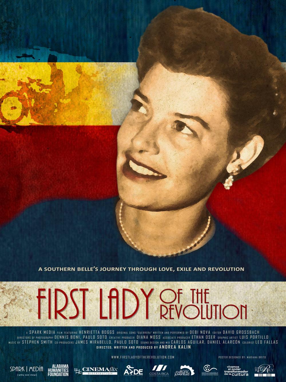 """革命第一夫人    """"革命中的第一夫人""""讲述了亨利埃塔·博格斯的故事。她不仅仅塑造了哥斯达黎加民主身份的先验斗争,也展现了一个勇敢女人如何逃离传统庇护的故事,将她的视野扩大到一个新的世界,并过着她从未像想过的生活。  阅读更多"""