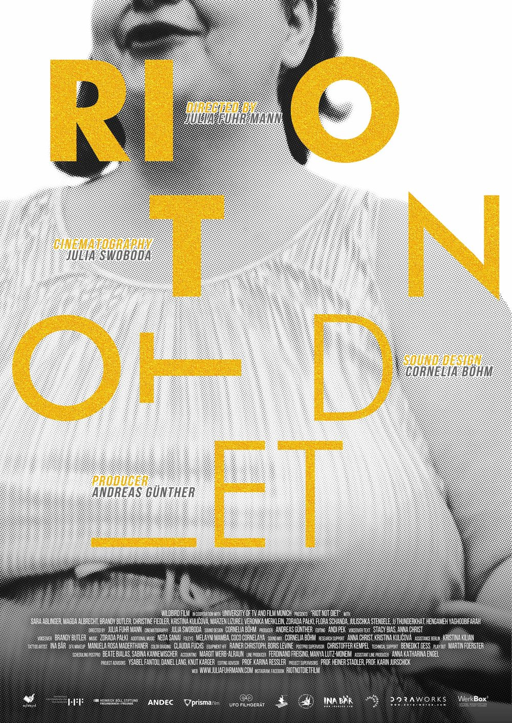 RIOT NOT DIET    A golden summer dress in XXL, the ice lolly drips slowly onto the hot ground.  Riot Not Diet  creates a queer feminist utopia far away from BMI norms and male* gaze. Five thousand years of patriarchy have left their…   Read More