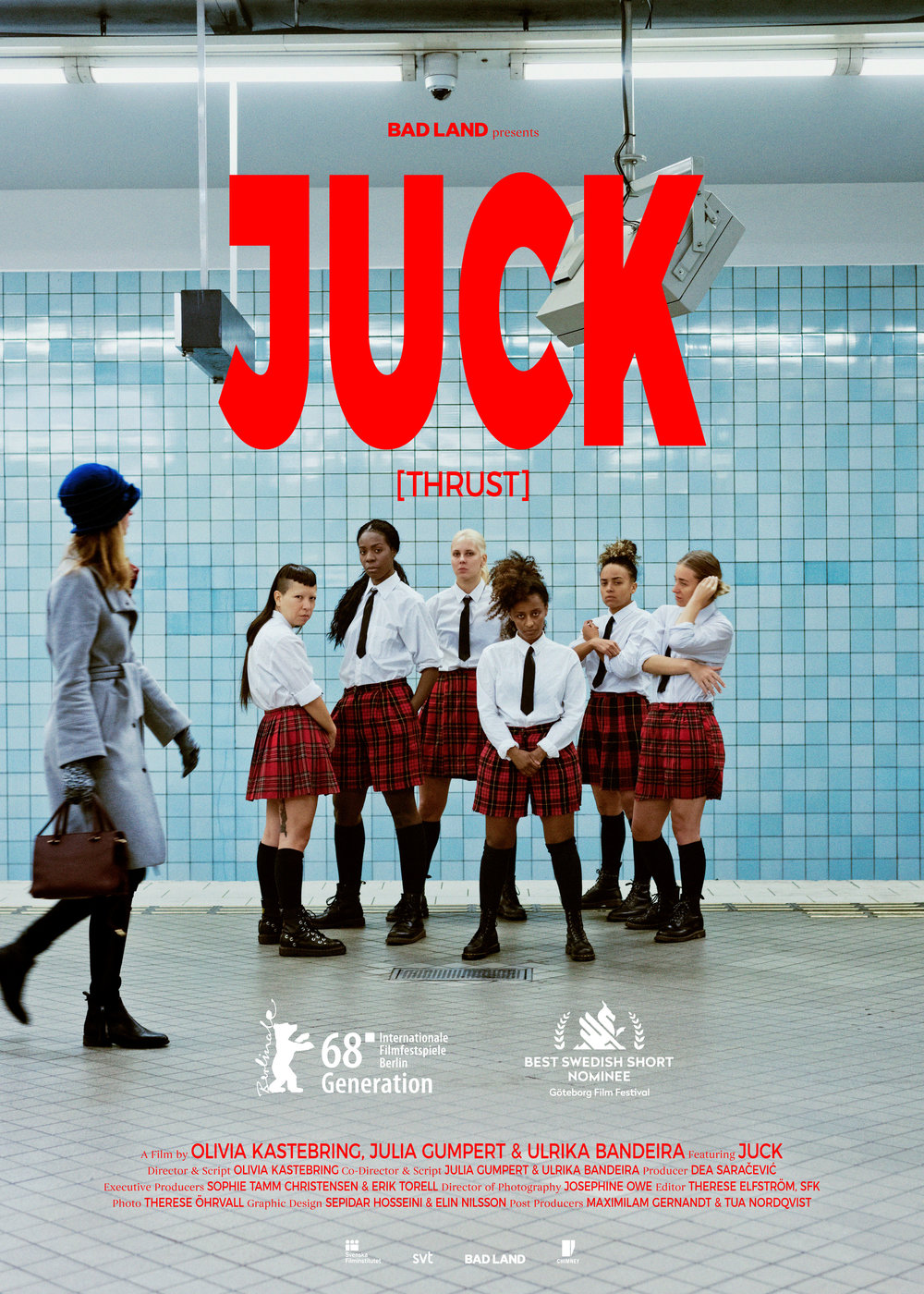 Juck    JUCK is a 17-minute film which is a hybrid between documentary, dance and fiction. The film depicts the all female dance group JUCK who made a name for themselves in 2013 with a video that became a viral hit all…   Read More