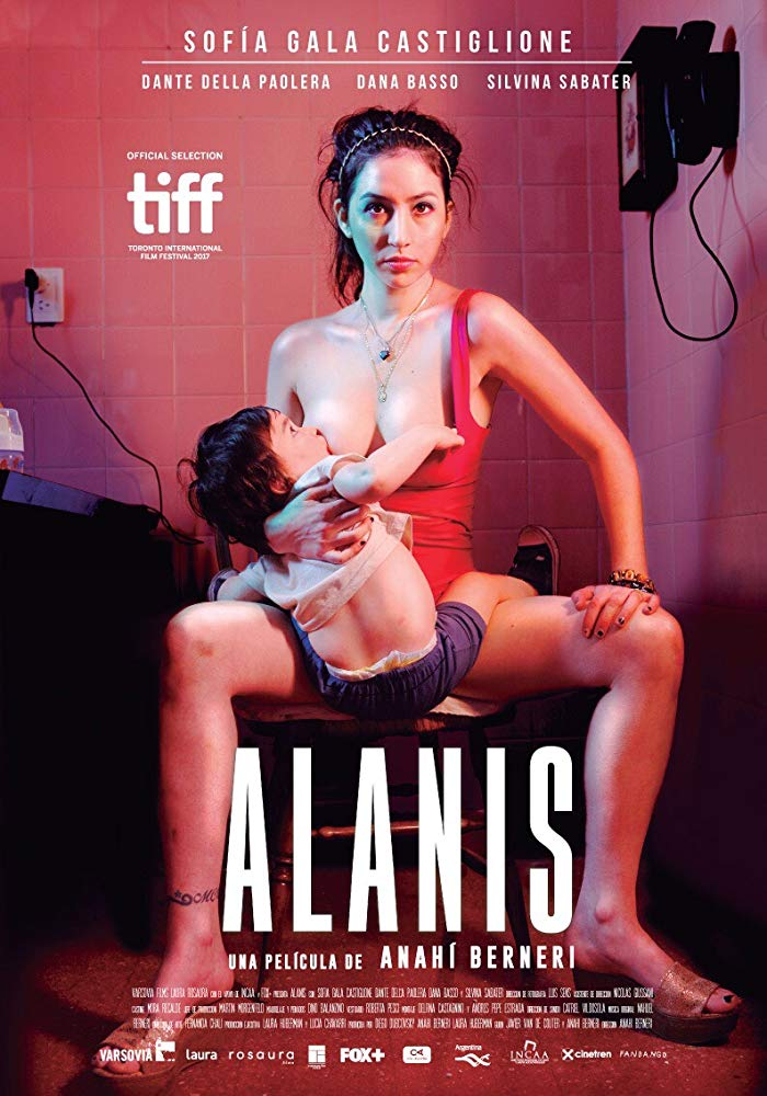 Alanis    Alanis, a young mother and sex worker struggling to survive. She lives and works with Gisela. One day, municipal inspectors posing as clients shut down their business and charge Gisela with human trafficking....   Read More