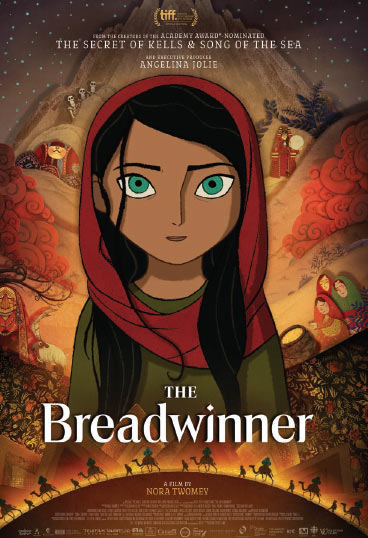 The Breadwinner    Parvana is an 11-year-old girl growing up under the Taliban in Afghanistan in 2001. When her father is wrongfully arrested, Parvana cuts off her hair and dresses like a boy in order to support her family…   Read More