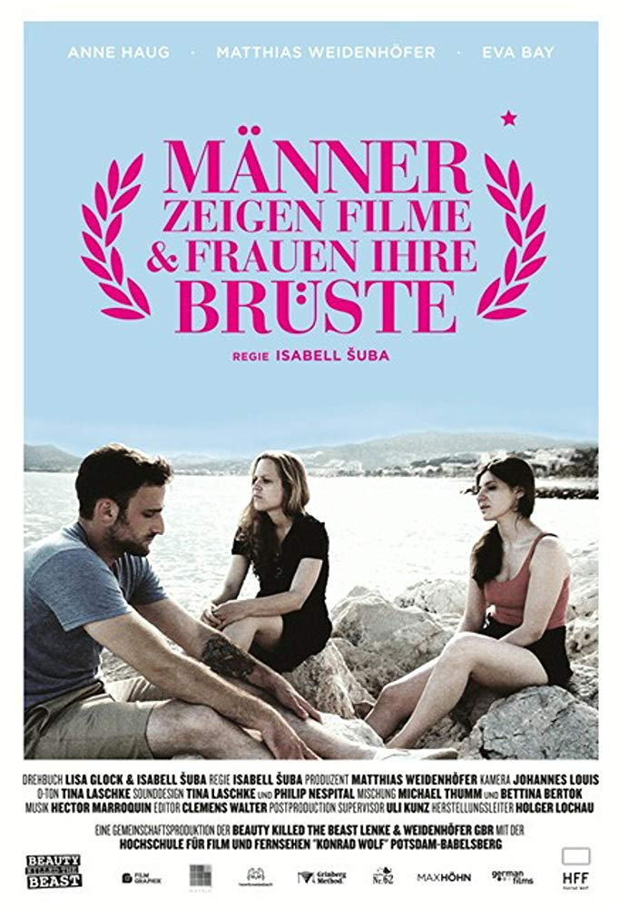 Men Show Movies and Women their Breasts    Isabell Šuba made it – or so she thinks! One of her short films is screening at the filmfestival in Cannes. But instead of a red carpet a cruel reality awaits her: not a single film from a female director is shown in the official competition. Even in Cannes, there is no exception to the rule: Men show movies & women their