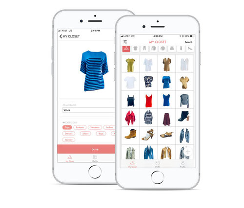 Wardrobe catalog - Every time your customer makes a purchase at your store, easily add it to their virtual closet in the Gloria App. Better over time, the virtual closet acts as a record of purchases for your store and gives customers a brand new way to see their clothes on a mobile device.