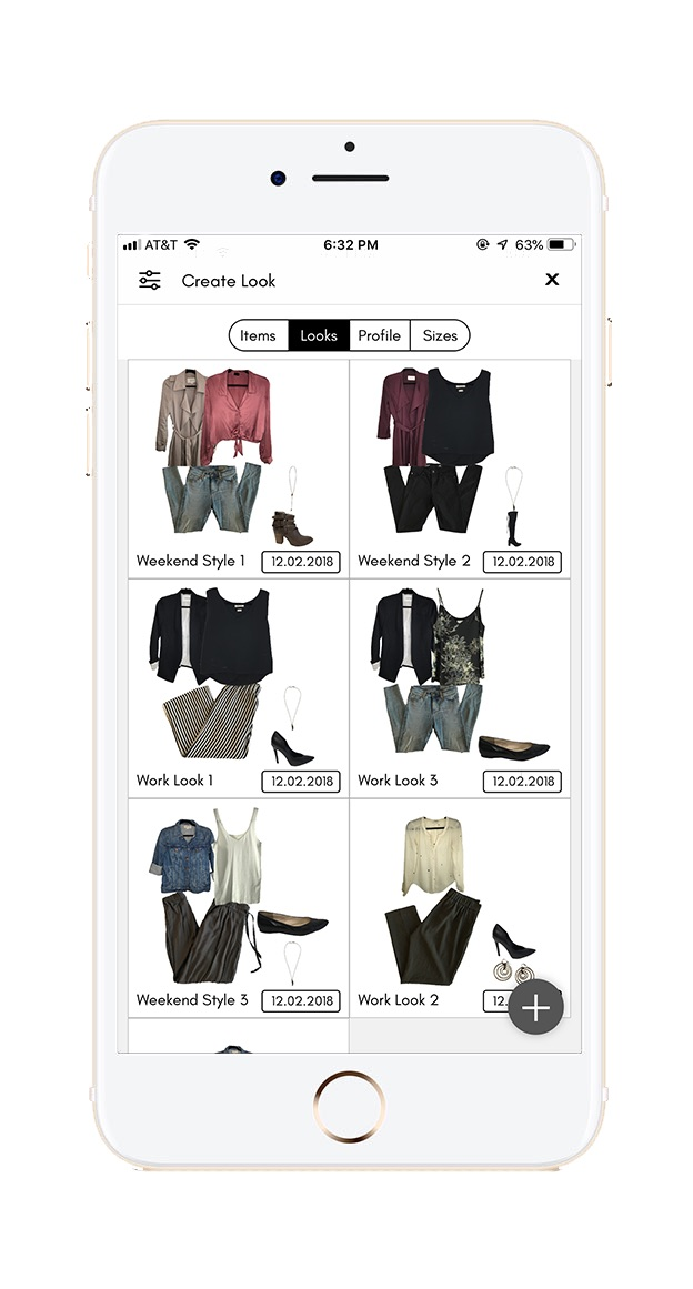 Look Book Builder - Gloria's Look Book tool makes it fun to style looks for your clients and easily share them. Create beautiful, professional-quality looks and collages that you can easily share with your client and store in their closet in the Gloria app.