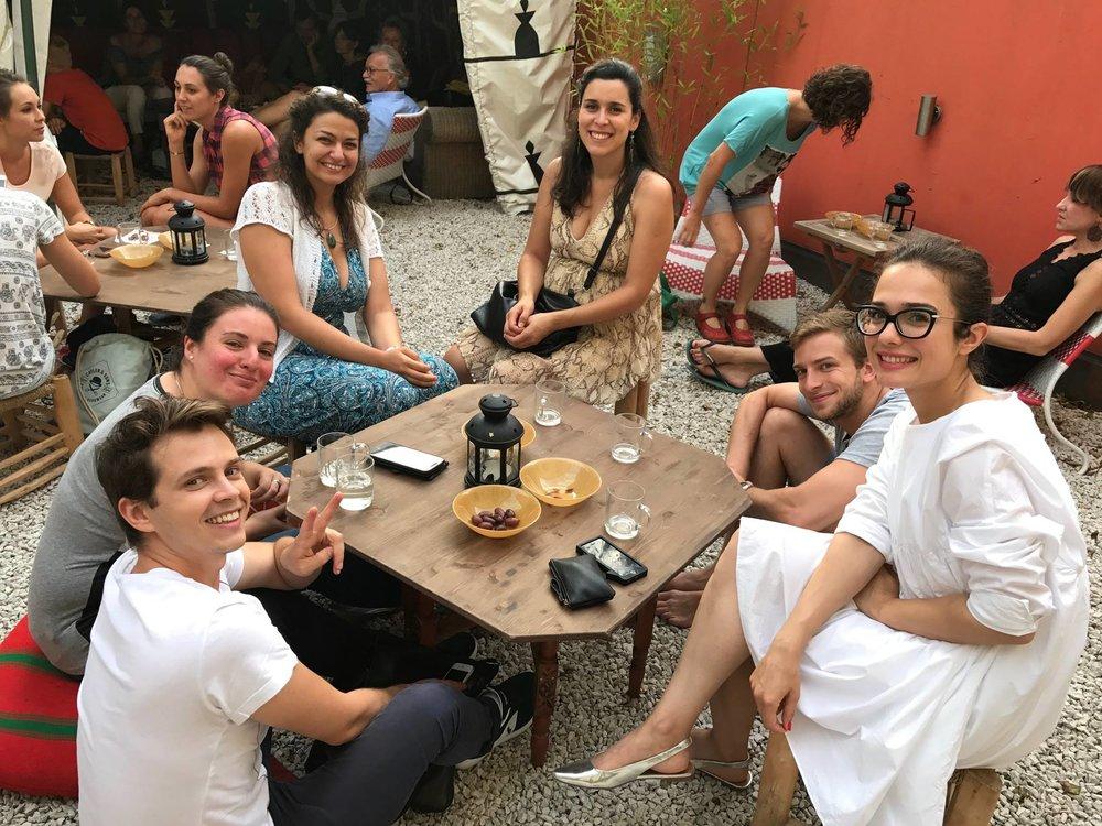 Die Stimmung beim Charity Dinner von arte vida war wie immer vorzüglich.
