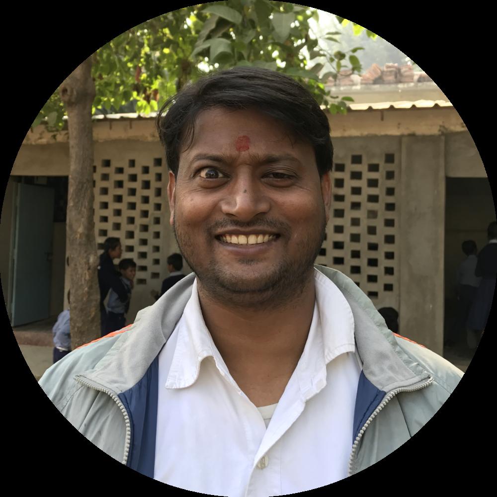 Raju Kumar Bhardwaj  Anjali School Principal, Class 5 Teacher  infoanjalischool@gmail.com   imrkbhardwaj@gmail.com   raju.varanasi@gmail.com  +91-9621071492