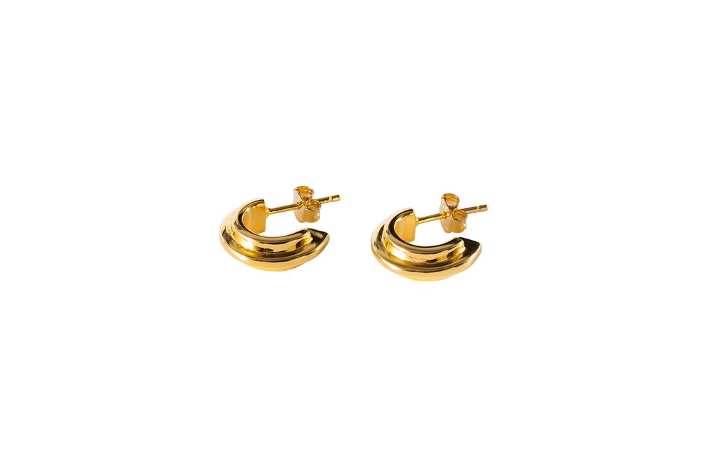 DOUBLE ARC EARRING  FROM £105