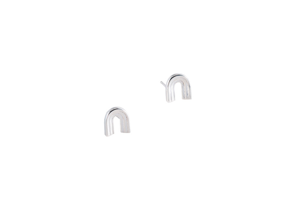 STEPPED ARC EARRING  FROM £60