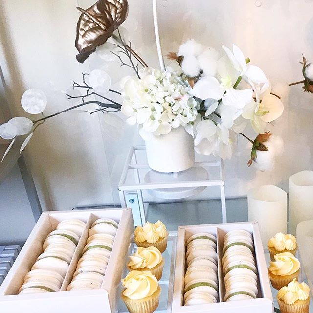 THANK YOU • to all our sugarholics that have continued to support us throughout this hectic year! This photo is a throwback to our baby shower in November. All the sweets 🙌