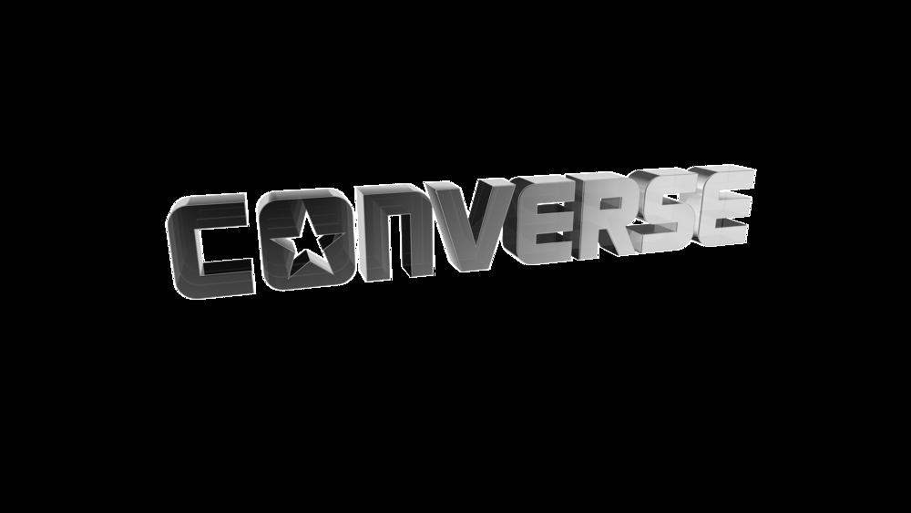Converse 3d model