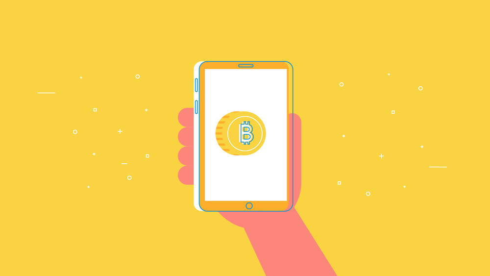 Bitcoin on a phone