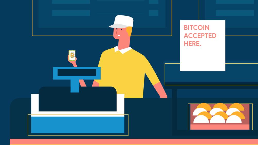 Seller accepting bitcoin