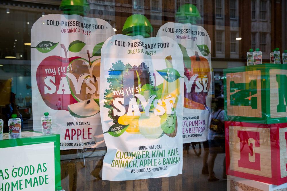 Savse Whole Foods Window Display