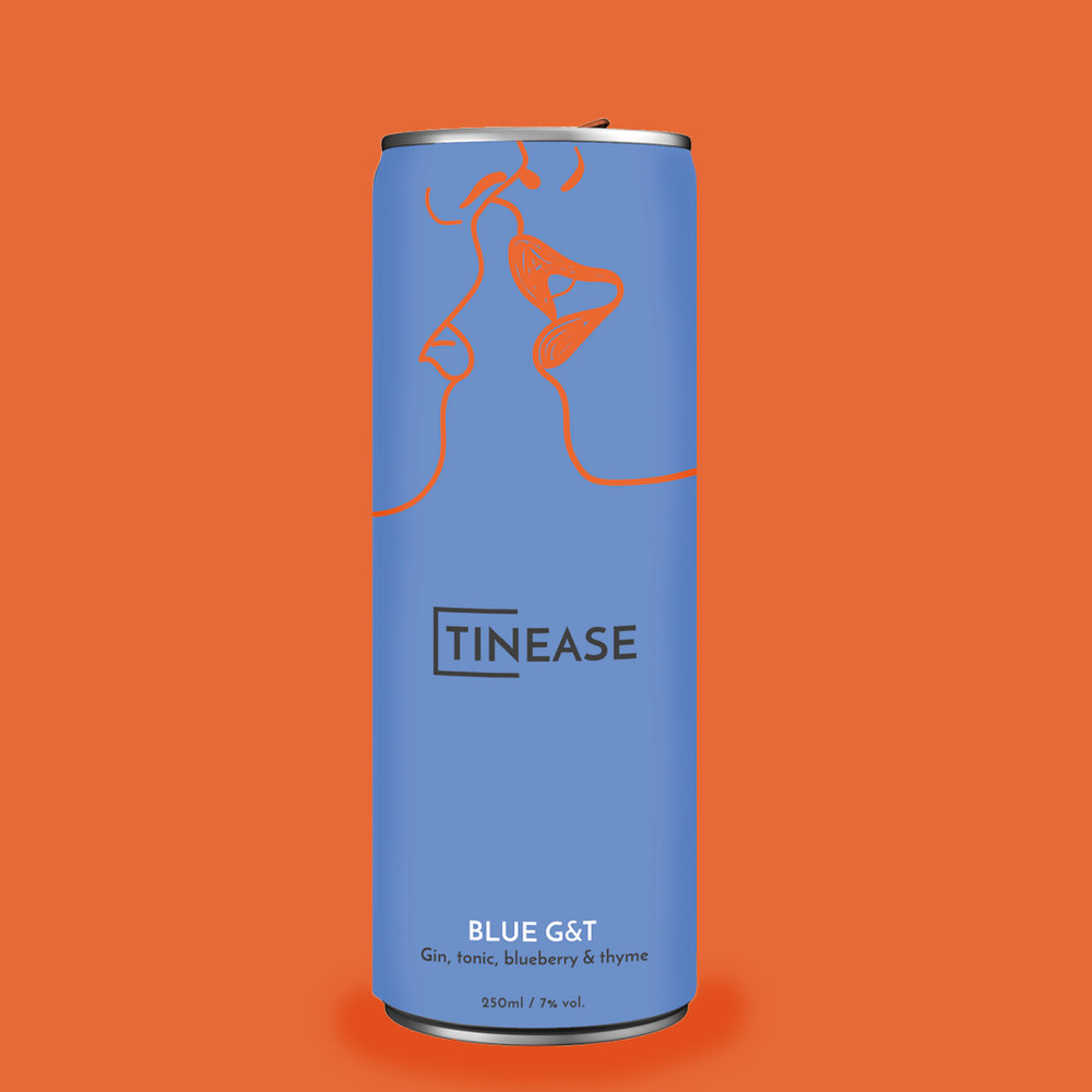 Tinease Brand Identity & Packaging