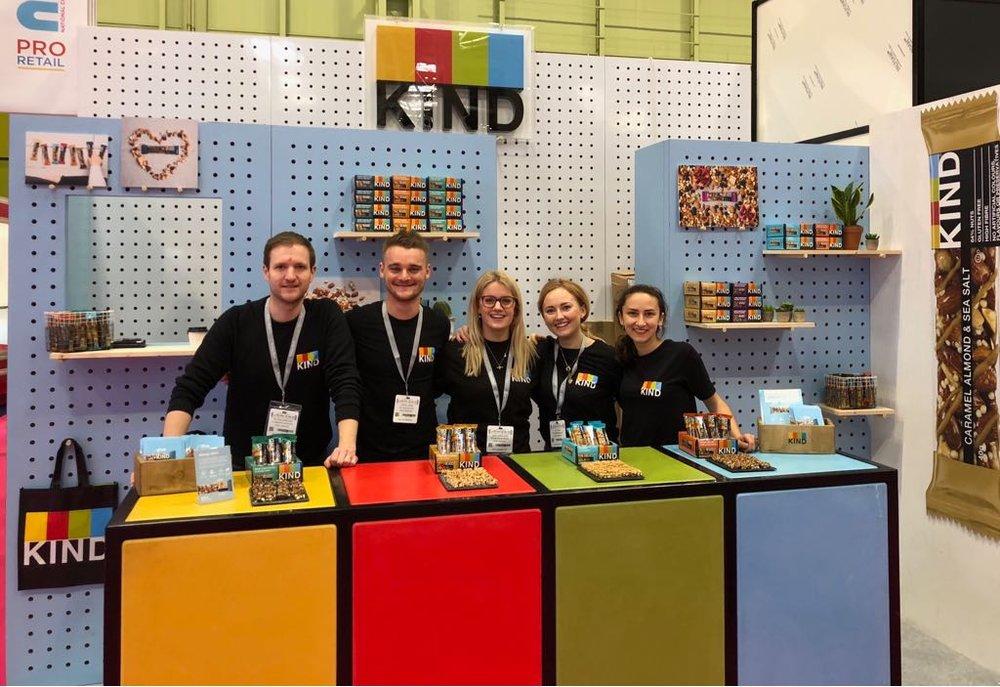 KIND Snacks Event Stand