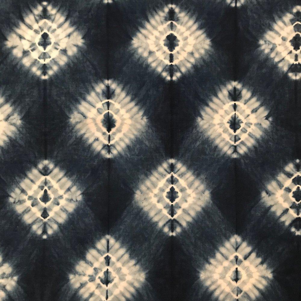 Romor Designs - Komasu shibori on cotton lawn.jpg
