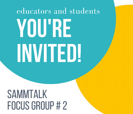Focus Group #2 - OSLO -- MONDAY 30TH APRIL 2018Join SammTalk for an afternoon focus group to discuss the development of our resources and app. All VGS teachers and students, as well as interested UiO academics and students, welcome. Refreshments will be provided.REGISTER HERE