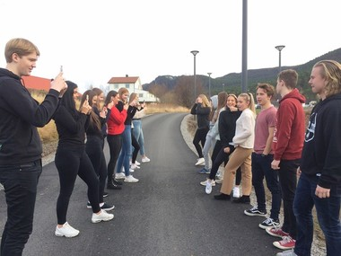 School Blog: Spjelkavik Vgs, Norway - 7 December 2018 (text in Norwegian)