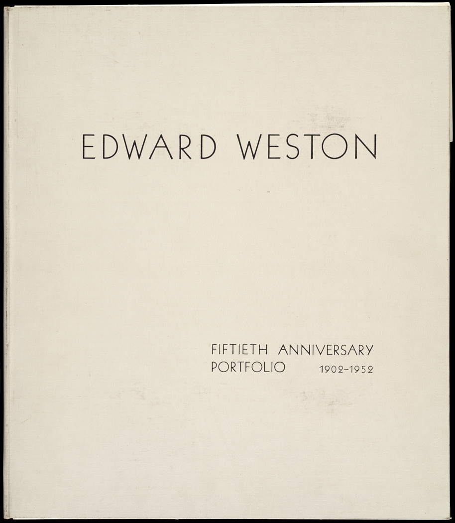 Edward Weston 50th Anniversary Portfolio Cover.jpg